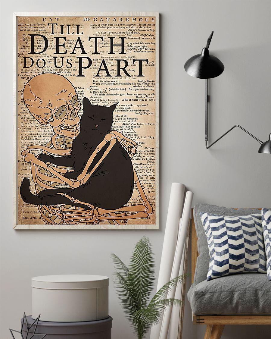Cat till death do us part poster