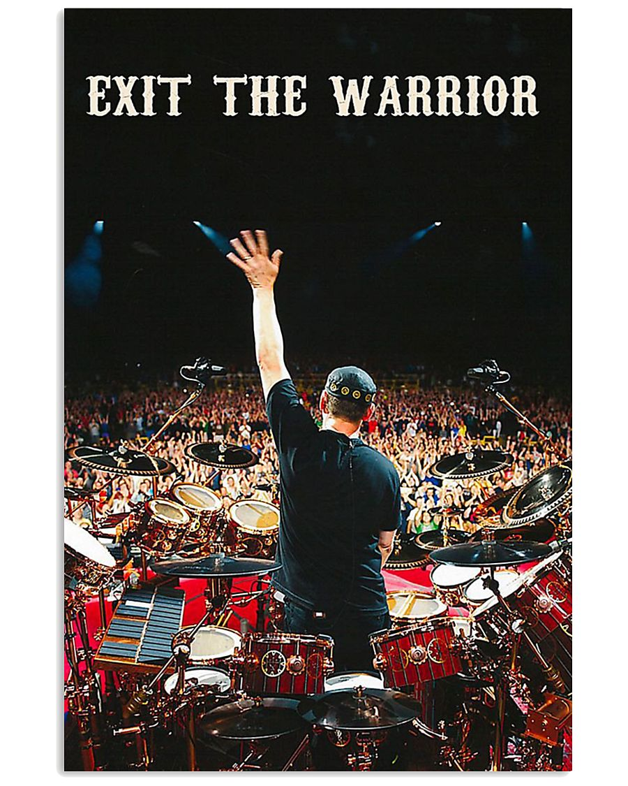 Exit the warrior poster