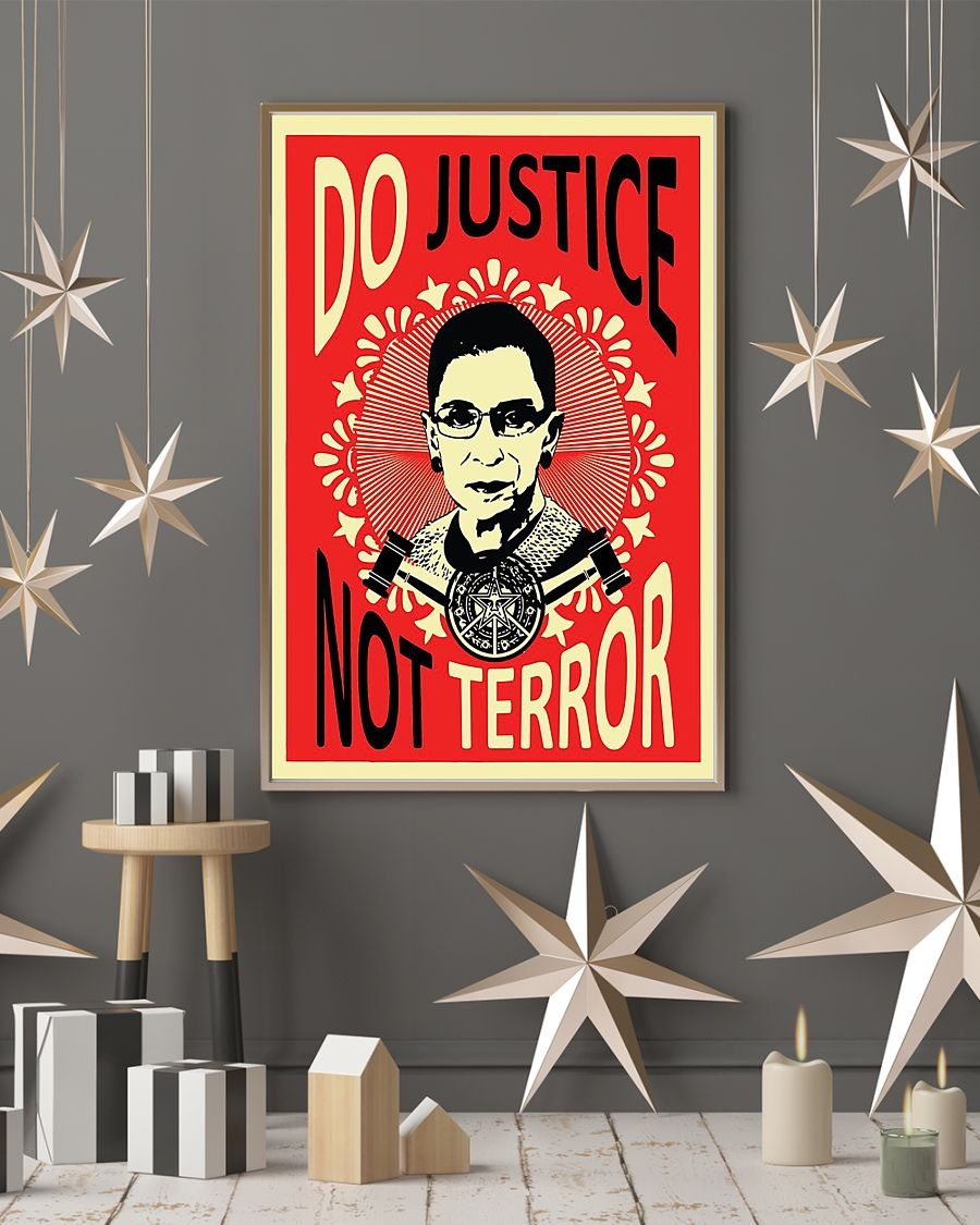 Ruth Baber do justice not terror poster