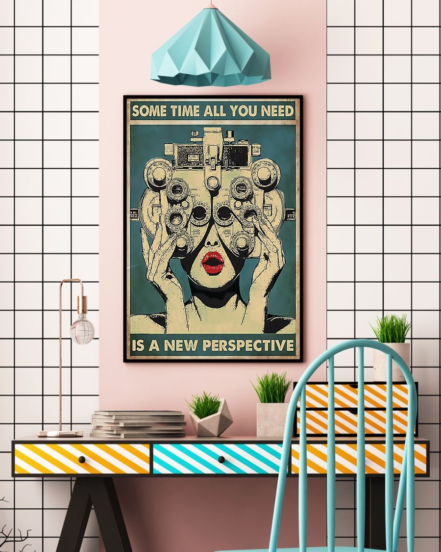 Some time all you need is a new perspective poster