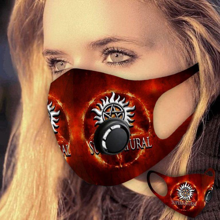 Supernatural face mask
