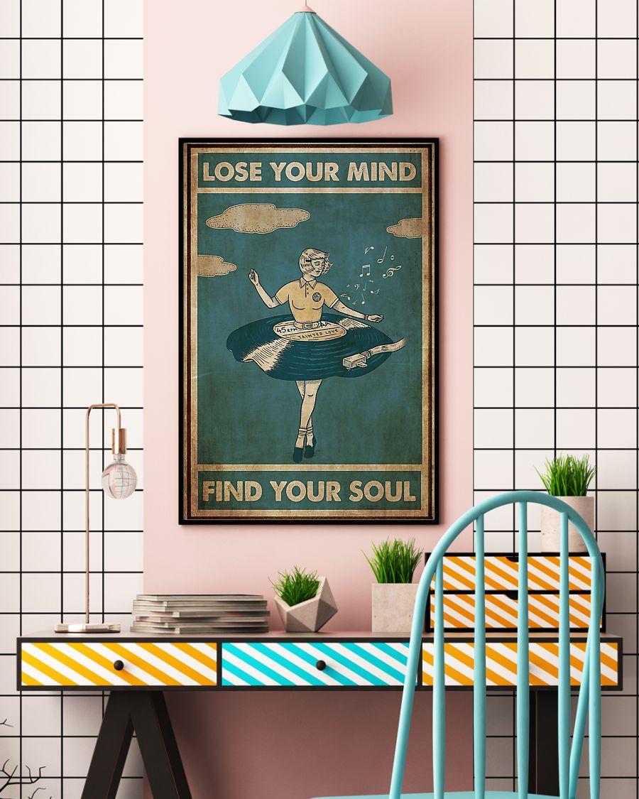Vinyl dress lose your mind find your soul poster