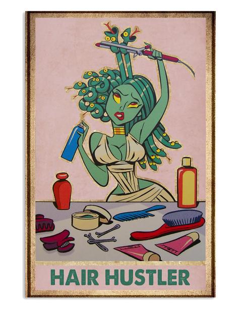 Medusa Hair hustler poster