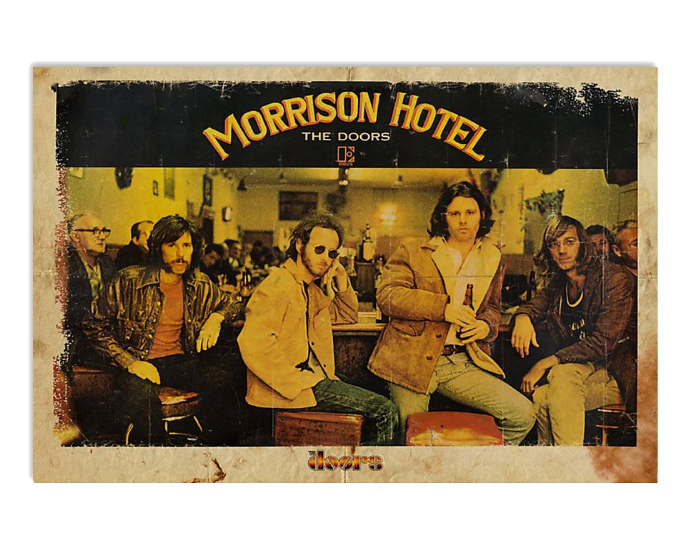 Morrison Hotel the doors poster