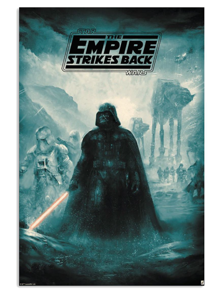 Star war the empire strikes back poster