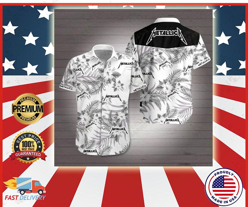 Metallic Hawaiian shirt