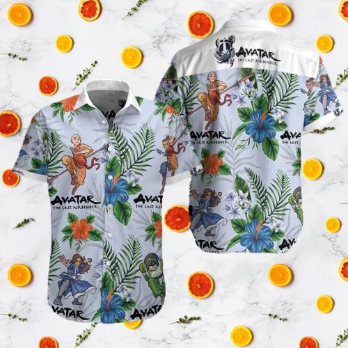 Avatar the last airbender hawaiian shirt