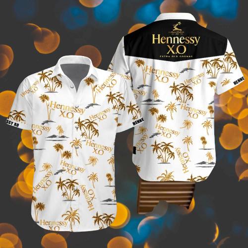 Hennessy XO hawaiian shirt