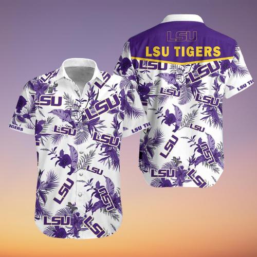 LSU Tigers hawaiian shirt