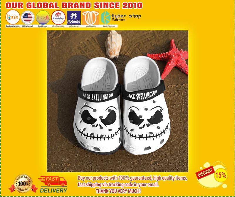Jack skellington crocs clog shoes 1