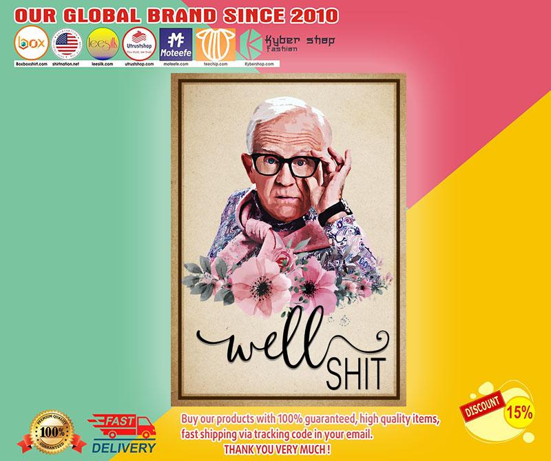 Leslie Allen ordan well shit poster1