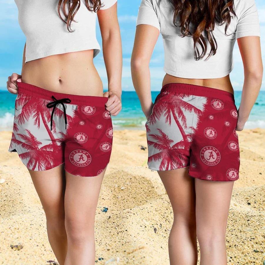 Mickey Mouse Alabama Crimson Tide hawaiian shirt and beach short 4