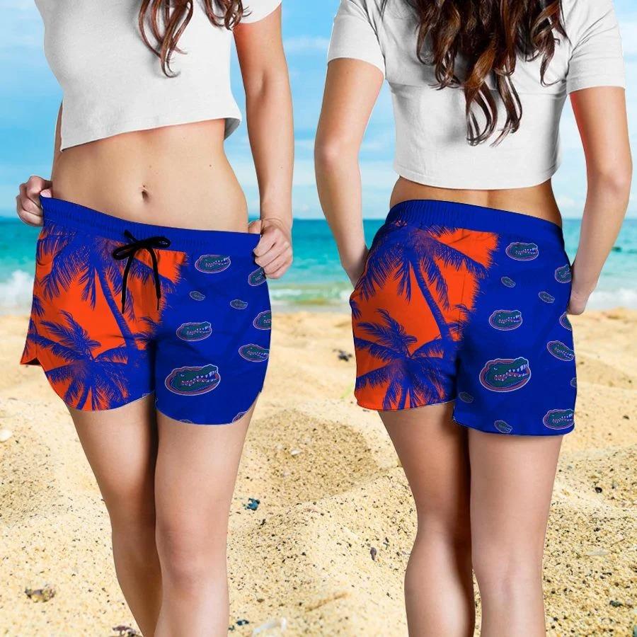Mickey Mouse Florida Gators hawaiian shirt and beach short 4