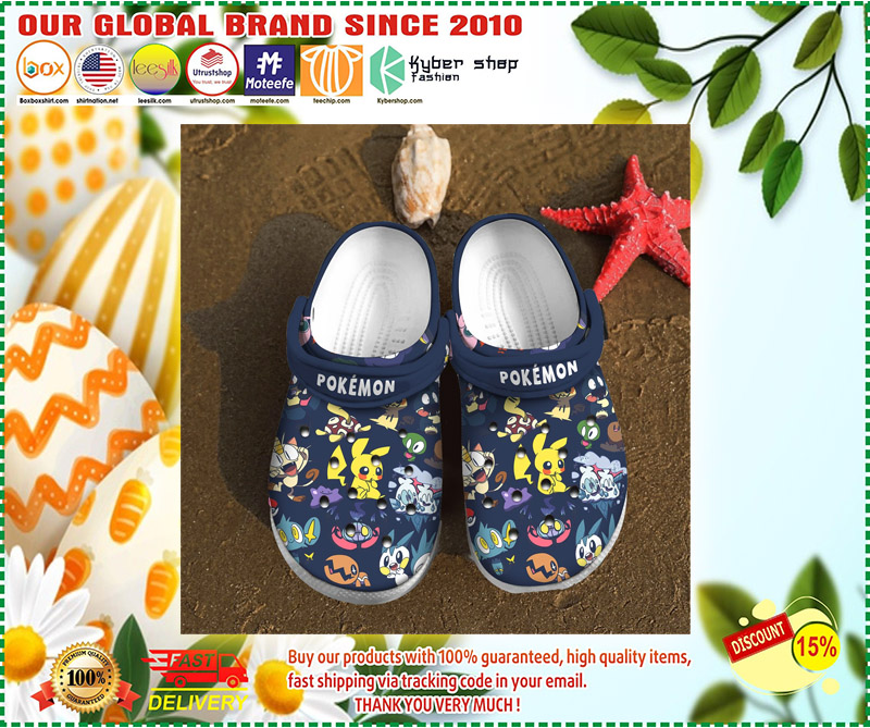 Pokemon crocs clog shoes 1