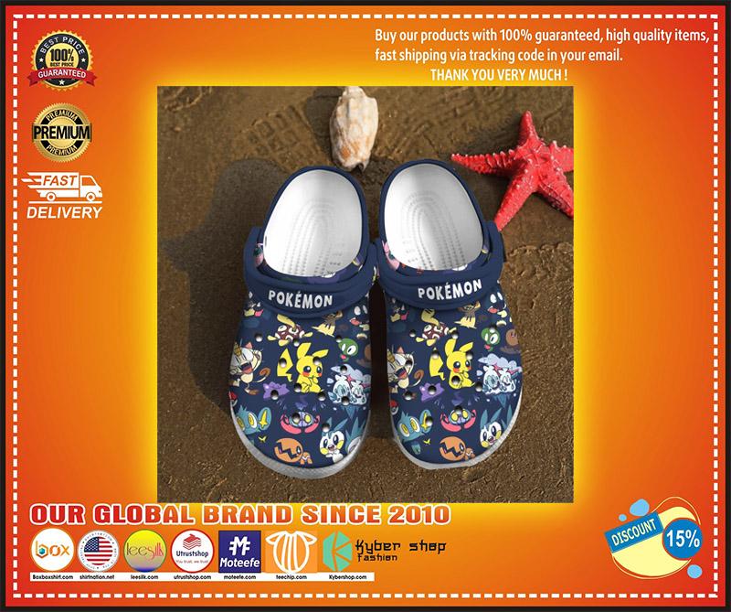 Pokemon crocs clog shoes 2