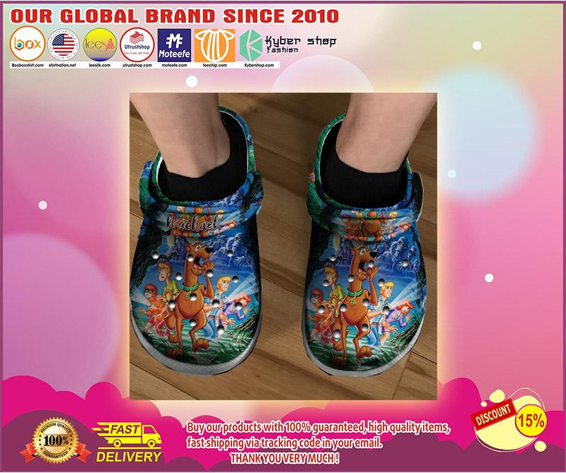 Scooby doo crocs clog shoes 1