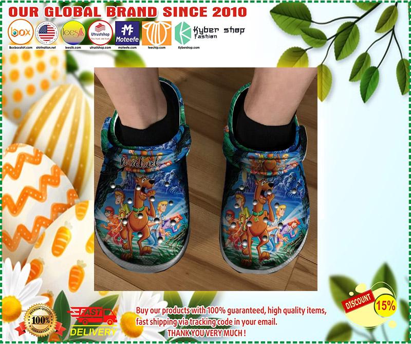 Scooby doo crocs clog shoes 2