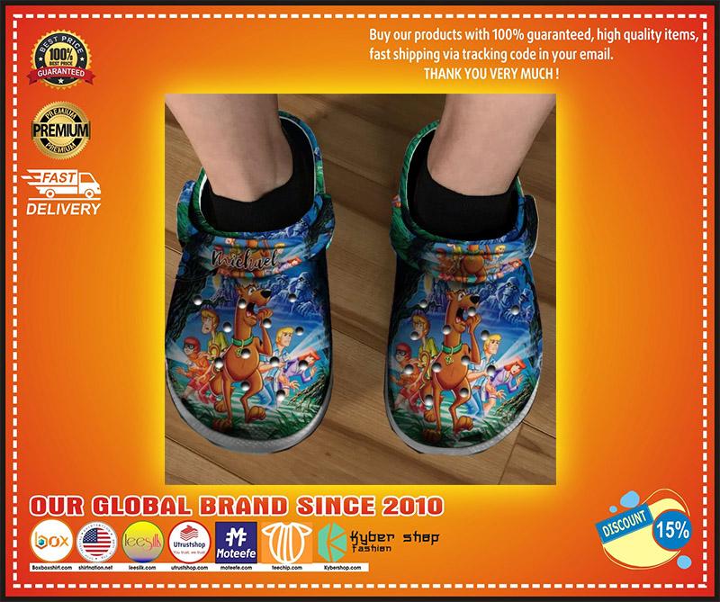 Scooby doo crocs clog shoes 3