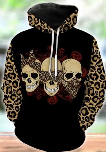 Skull 3D hoodie and legging2