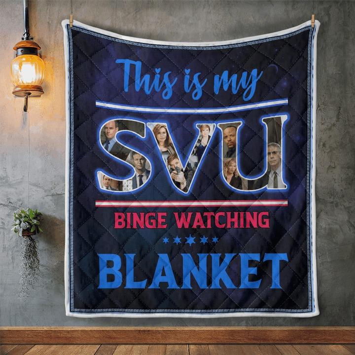 This is my svu binge watching blanket 1