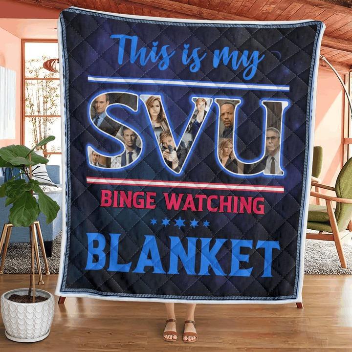 This is my svu binge watching blanket 2
