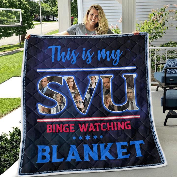 This is my svu binge watching blanket 3