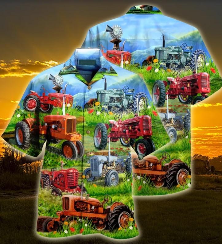 Tractor hawaiian