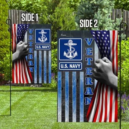 US Navy veteran American flag2 1