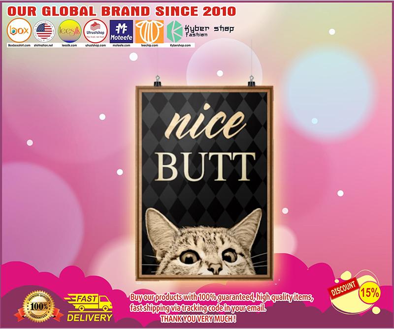 BBS Nice butt Cat poster