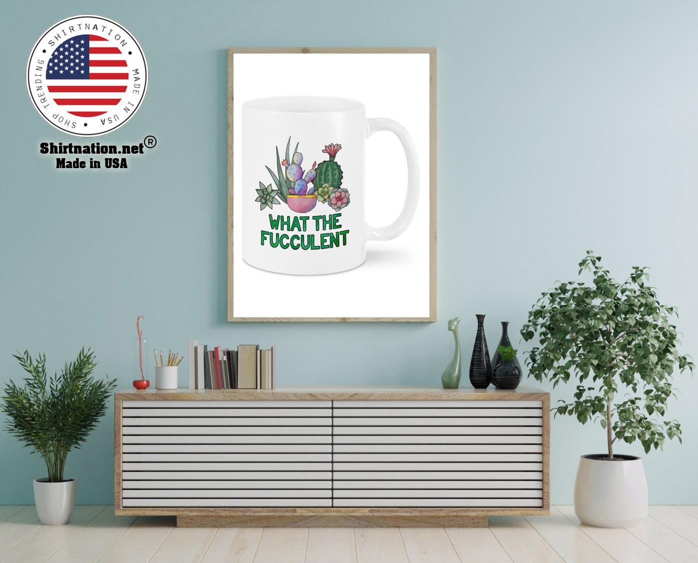 Cactus what the fucculent mug