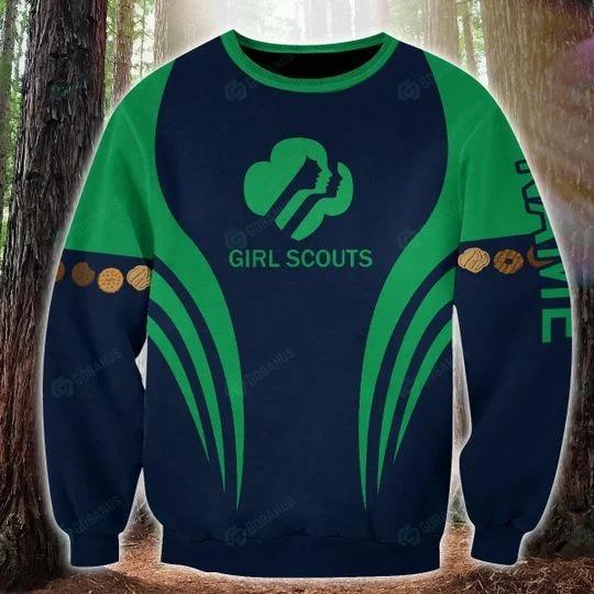 Girl scounts custom name 3D hoodie 4