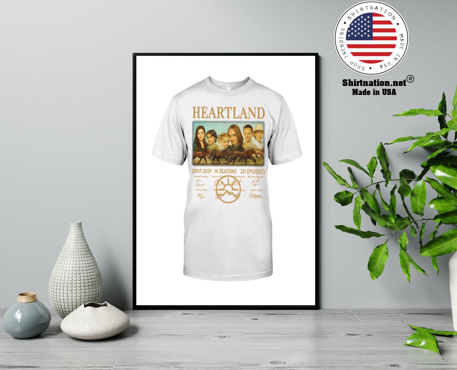 Heartland 2007 2021 14 seasons 221 episodes shirt 13