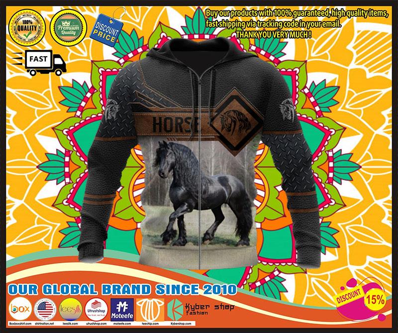 Horse 3D hoodie 1 1