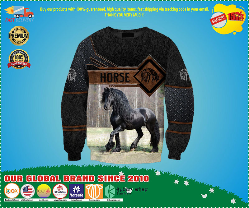 Horse 3D hoodie 2 1