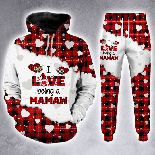 I love being a mamaw custom name 3D hoodie and legging 1