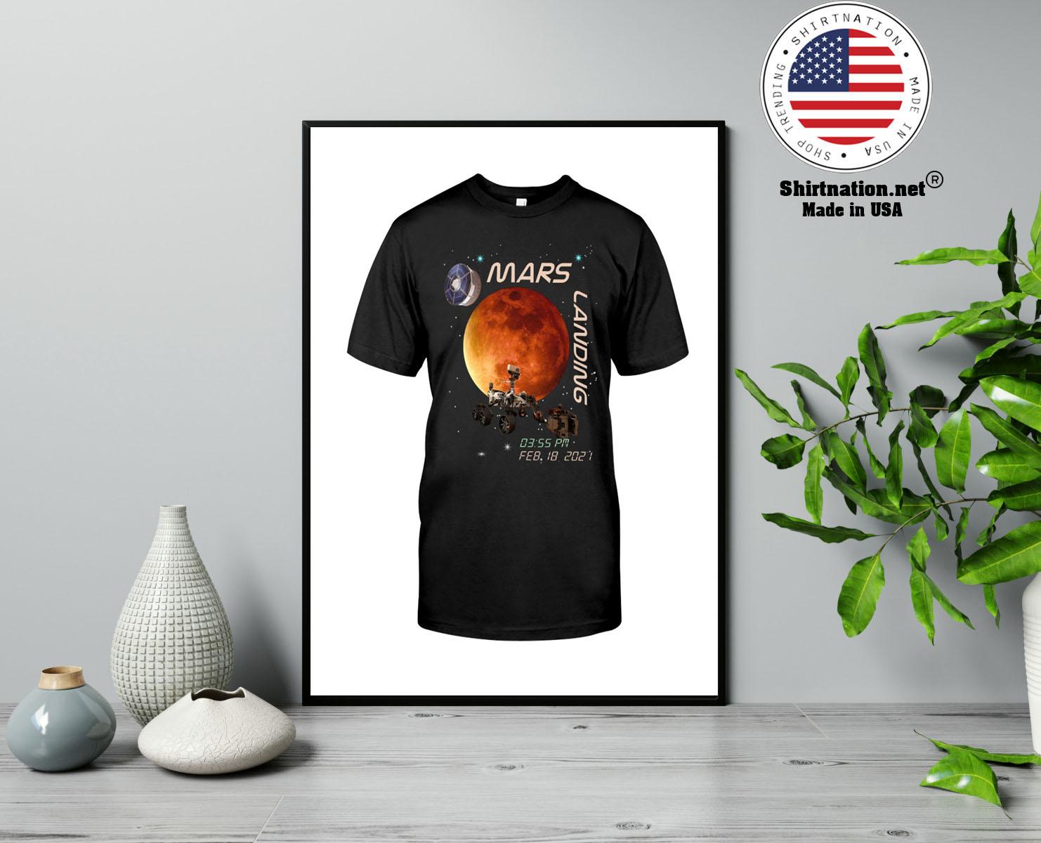 Mars landing february 18 2021 shirt 13