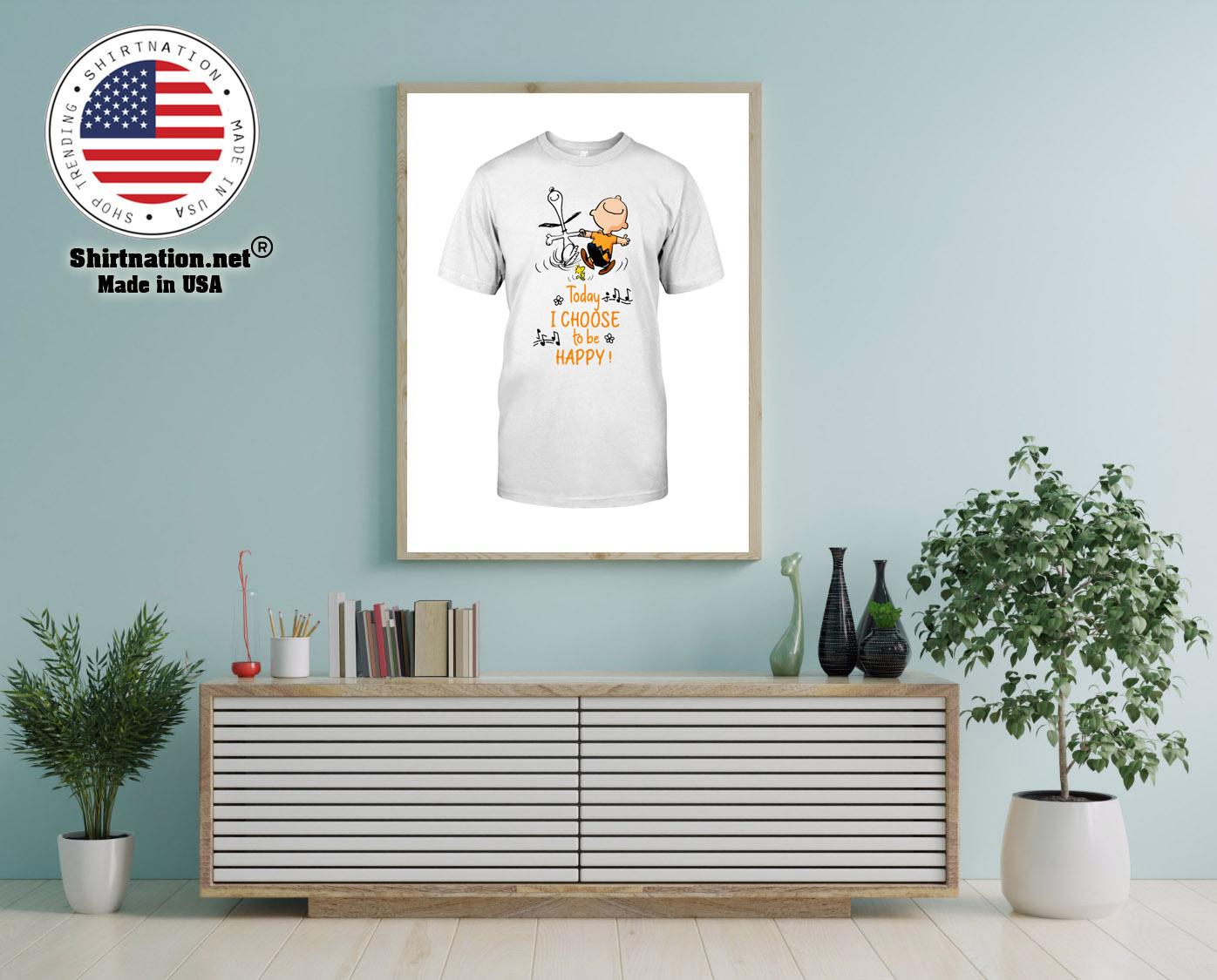 Peanuts Snoopy today i choose to be happy shirt 12