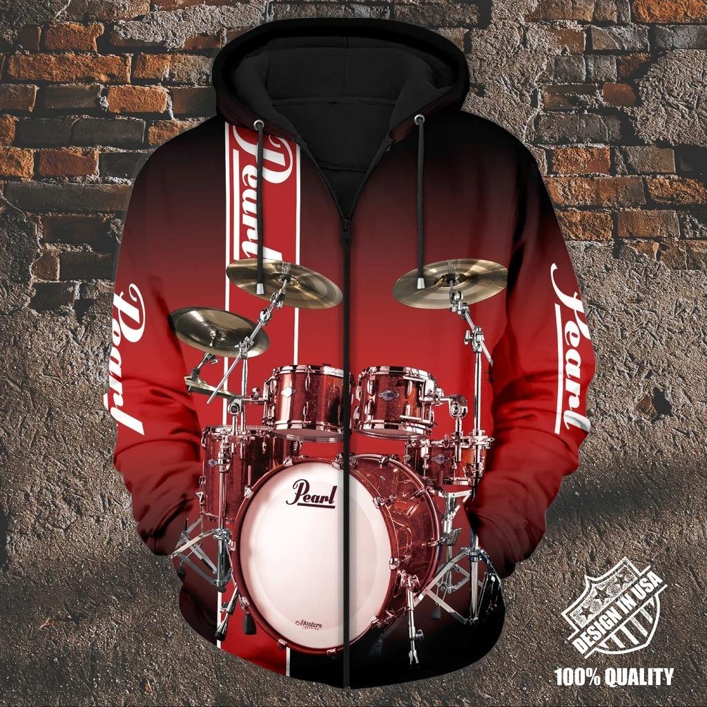 Pearl Drummer zip hoodie 2