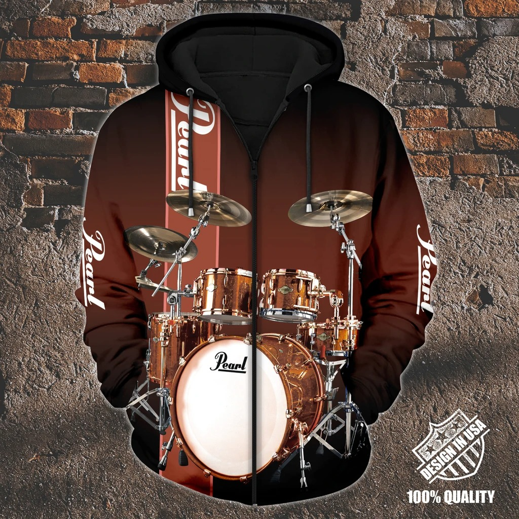 Pearl Drummer zip hoodie 4