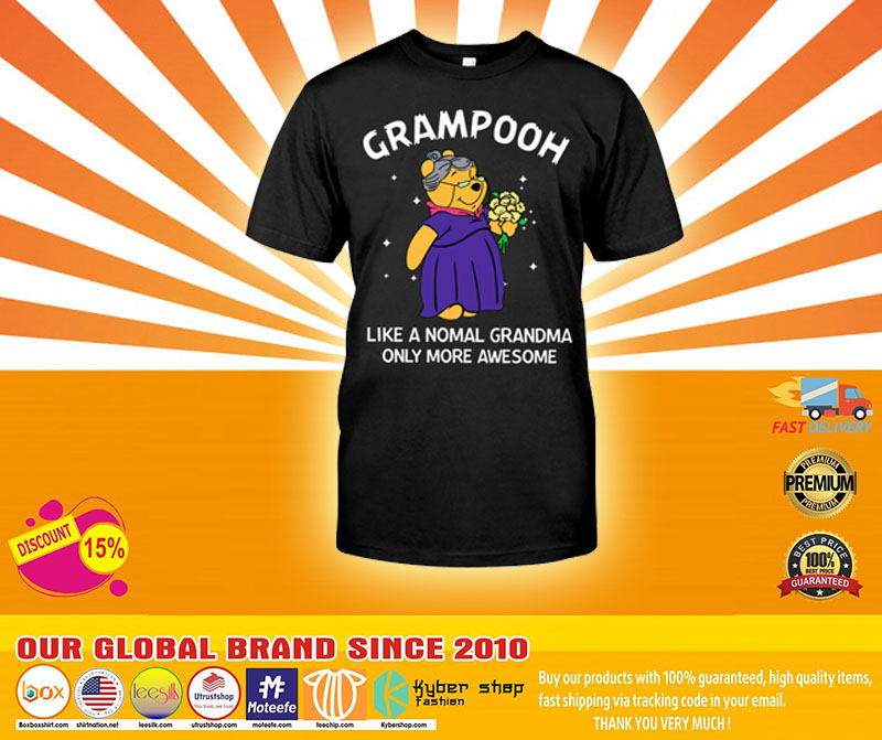 Grampooh like a nomal grandma only more awesome shirt4