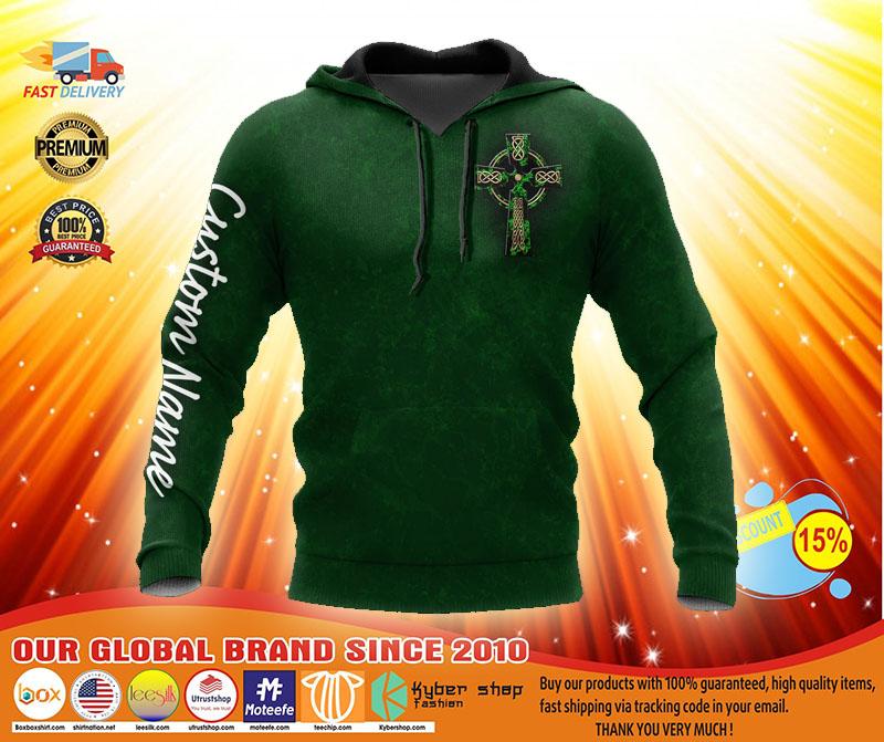 Irish St.Patrick day custom name 3D hoodie2