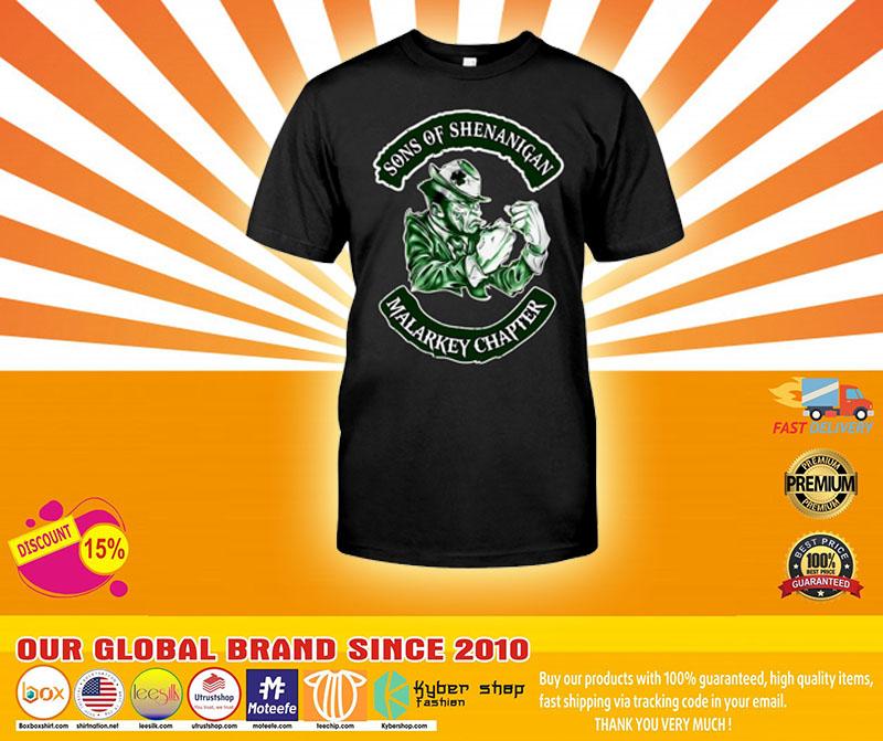 Sons of shenanigan malarkey chapter shirt4