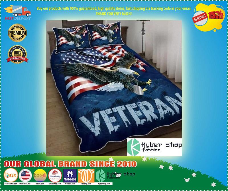 American eagle veteran bedding set 2