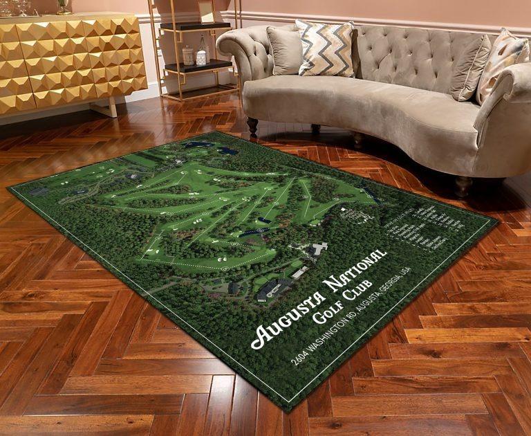 Augusta national golf club rug 2