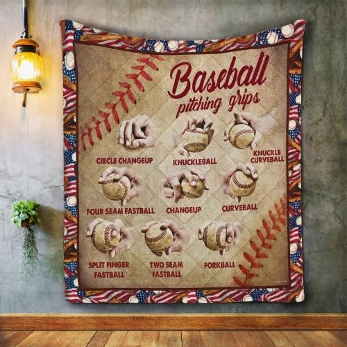 Baseball pitching grips quilt 3