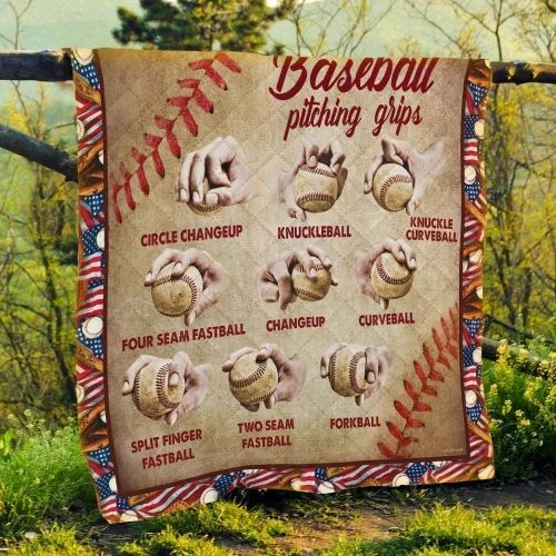 Baseball pitching grips quilt 4