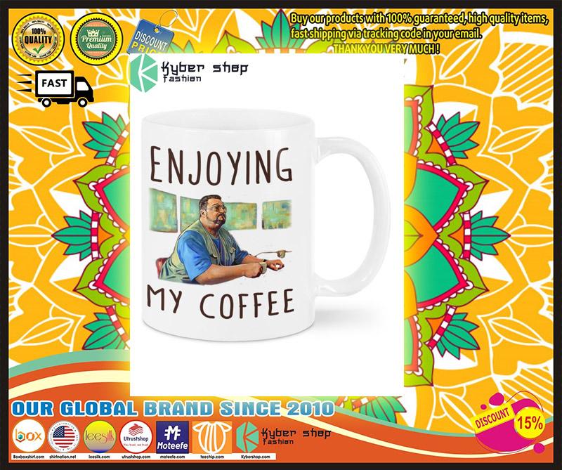 Big Lebowski Enjoying my coffee mug 1