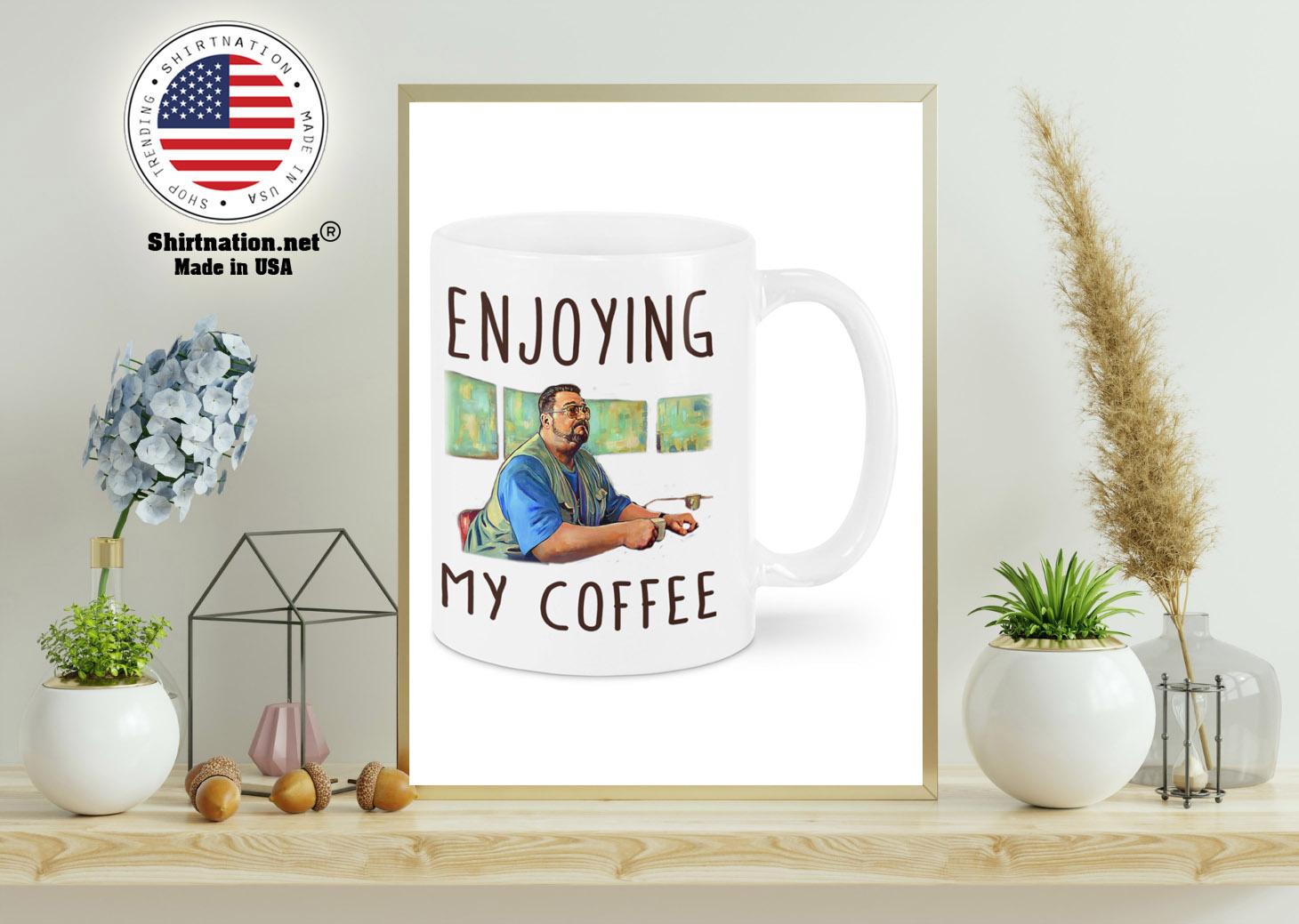 Big Lebowski Enjoying my coffee mug 11