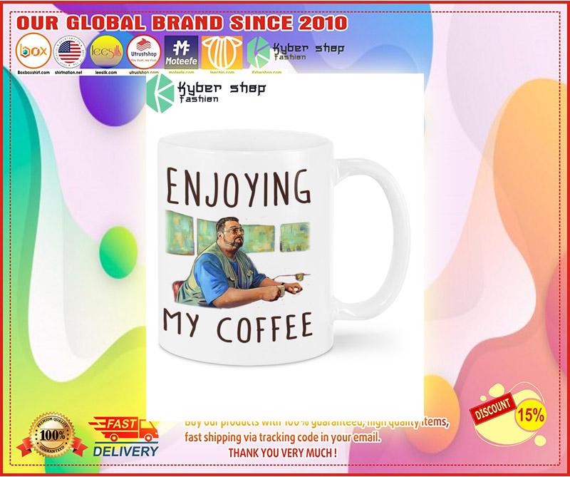 Big Lebowski Enjoying my coffee mug 4