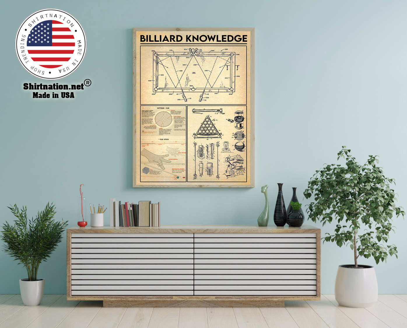 Billiard knowledge poster 12